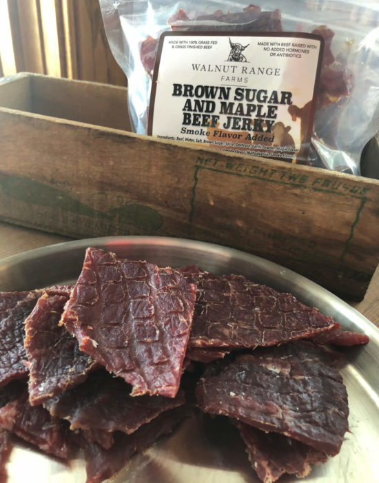 Brown Sugar and Maple Beef Jerky
